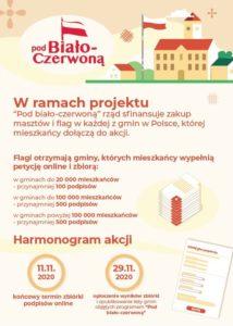 """Zagłosuj na miasto Jarosław w ramach projektu """"Pod biało-czerwoną"""""""