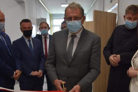 Uroczyste otwarcie Centrum Integracji Społecznej w Chałupkach, Gmina Przeworsk