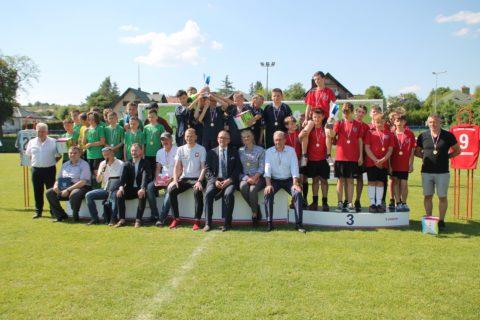 """Powiatowy Turniej Piłki Nożnej """"Śladami Bogdana Zająca"""" za nami! Znamy zwycięzców."""
