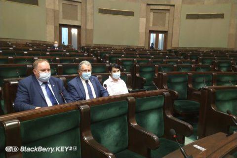 Moje wystąpienie w Sejmie RP w sprawie kolejek w przychodniach do specjalistów