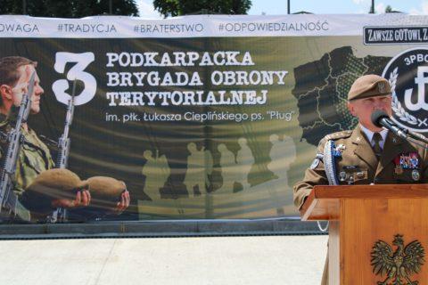 Przysięga Wojskowa 3 Podkarpacka Brygada Obrony Terytorialnej w Jarosławiu