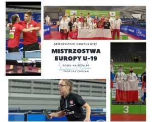 Sukcesy jarosławskich sportowców na Mistrzostwach Europy U-19