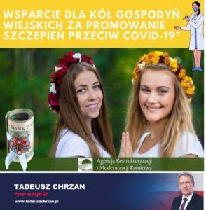 KGW może otrzymać 8 tys. zł za promocję akcji #szczepimysię