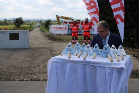 Budowa drogowego przejścia granicznego w Malhowicach